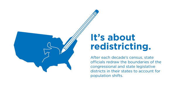 It's about redistricting