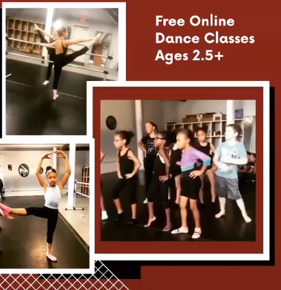 FREE Dance Classes ONLINE