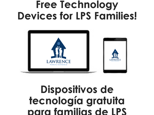 Lawrence distributes devices for online learning