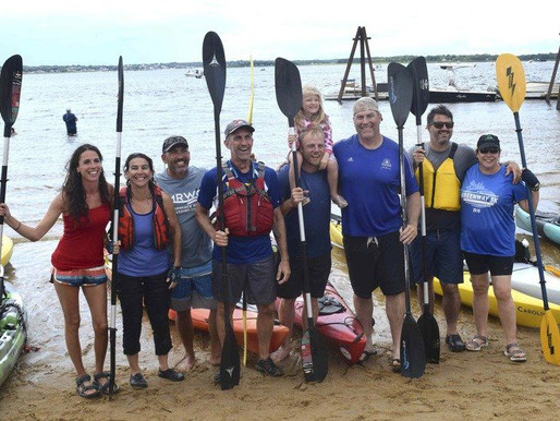 Voyagers put focus on the Merrimack - Four-day kayak trip spans 117 miles