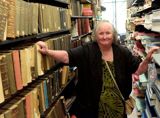Making sense of mysteries to the end - Longtime archivist retires from Lawrence Public Library