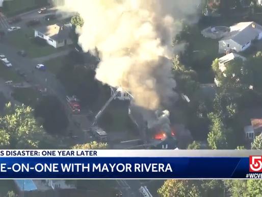 Lawrence Mayor Dan Rivera recounts memories of gas explosion