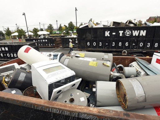 Thousands of appliances replaced, recycled