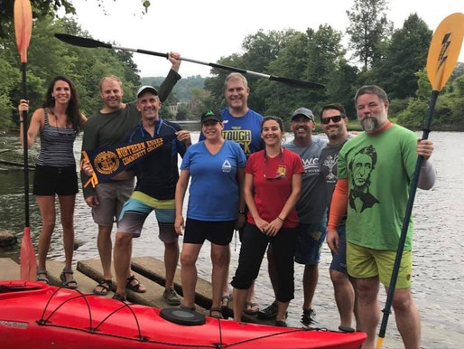 Group starts 117-mile kayak trip on Merrimack