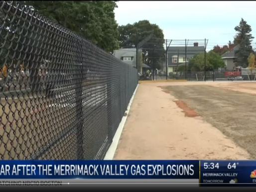 Lawrence Ballfield Renovation Continues 1 Year After Gas Explosions