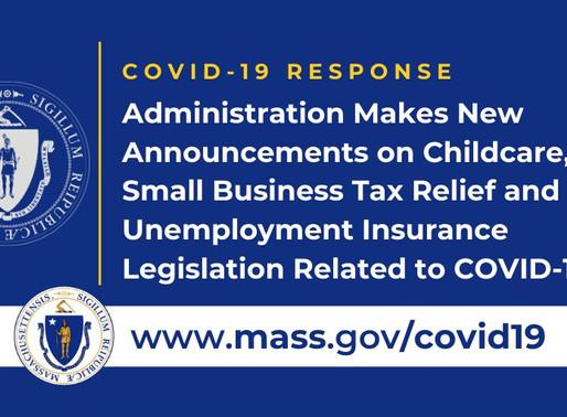 Anuncios de la administración sobre cuidado de niños, desgravación fiscal para pequeñas empresas