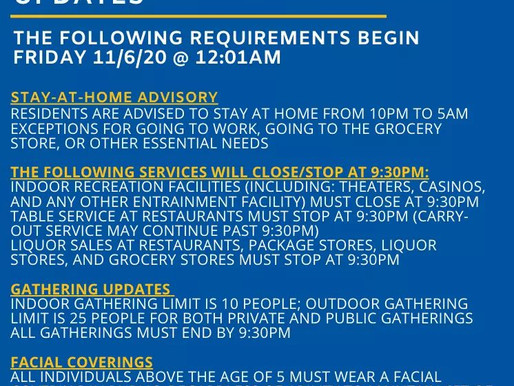 Massachusetts COVID Rules Update / Actualización de las reglas de COVID de Massachusetts
