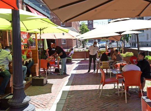 After delays, Lawrence restaurants open for outdoor diners
