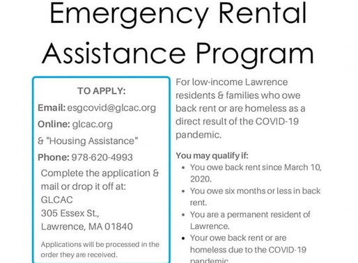 $1.6M COVID-19 Emergency Rental Assistance Program Announced