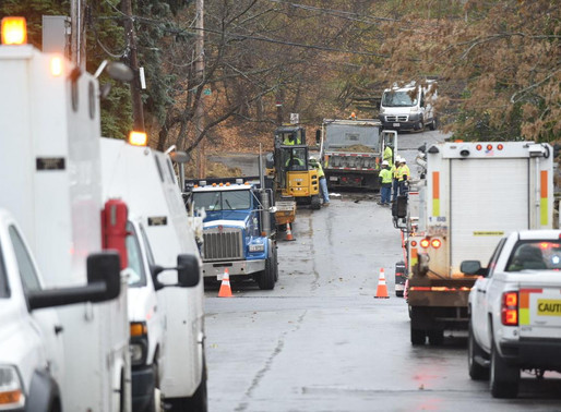 Columbia Gas contractor hits gas main, forcing evacuation
