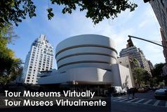 Tour Museums Virtually / Tour Museos Virtualmente