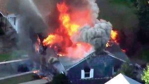 Confirmado: Sobrepresión de gas produjo explosiones en Lawrence