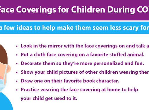Cloth Face Coverings for Children During COVID-19