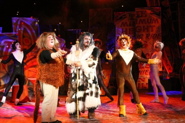 Gareth as 'Gus' in Cats