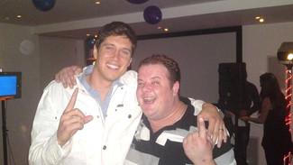 Gareth & Vernon Kay - Family Fortunes Wrap Party