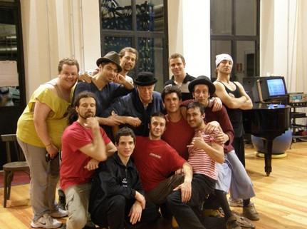 Rehearsals with the Legendary Franco Zeffirelli