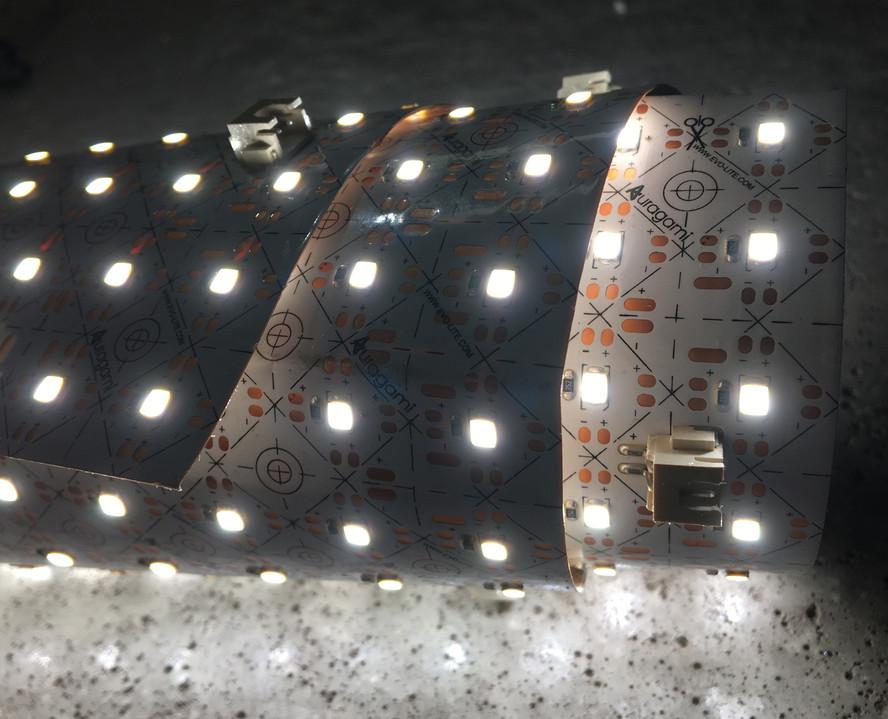 Flexible light panel LED light sheet App