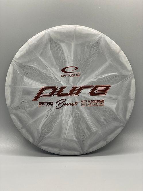 174g Gray Retro Burst Pure