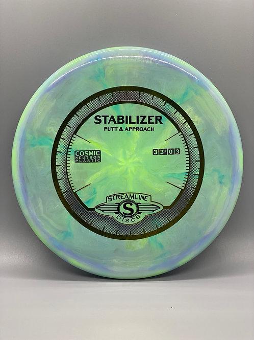165g Blue Cosmic Neutron Stabilizer