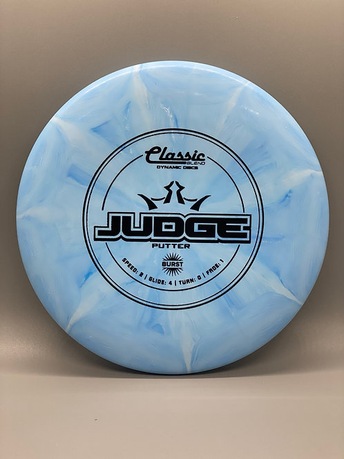 173g Blue Classic Burst Judge