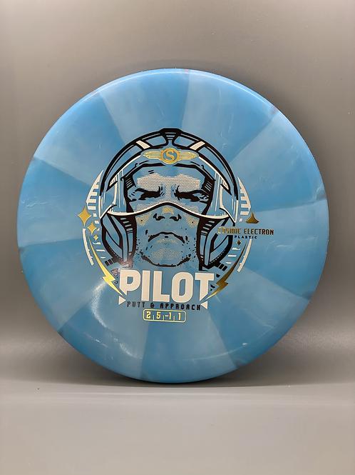 172g Blue Cosmic Electron Pilot