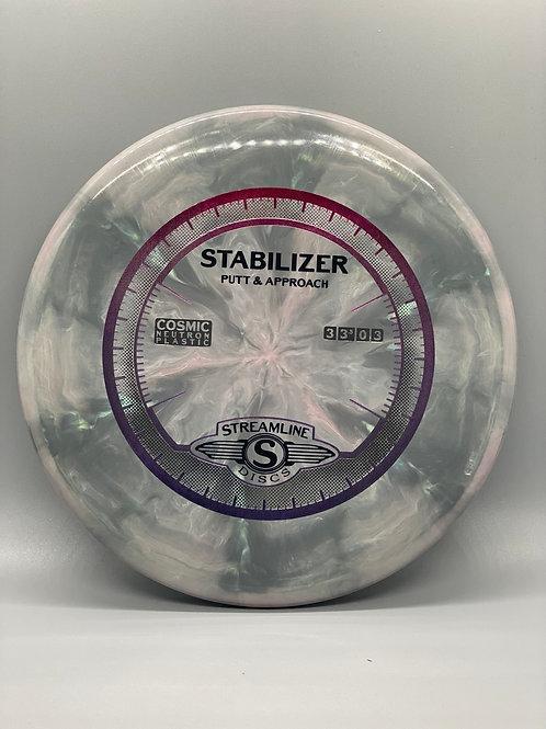 165g Gray Cosmic Neutron Stabilizer