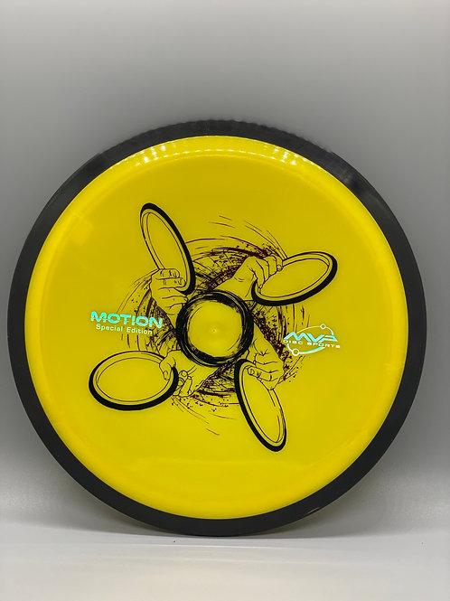 168g Yellow Plasma Motion