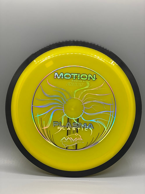 167g Yellow Plasma Motion