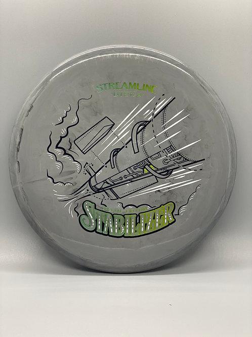 173g Gray Swirly Neutron Stabilizer