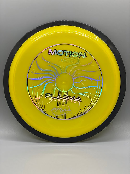 171g Yellow Plasma Motion