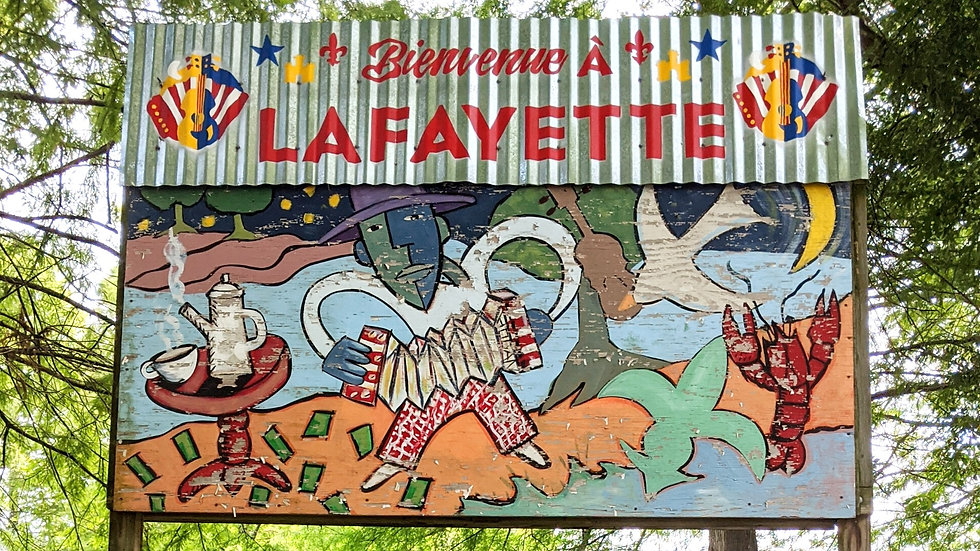 Welcome to Lafayette!