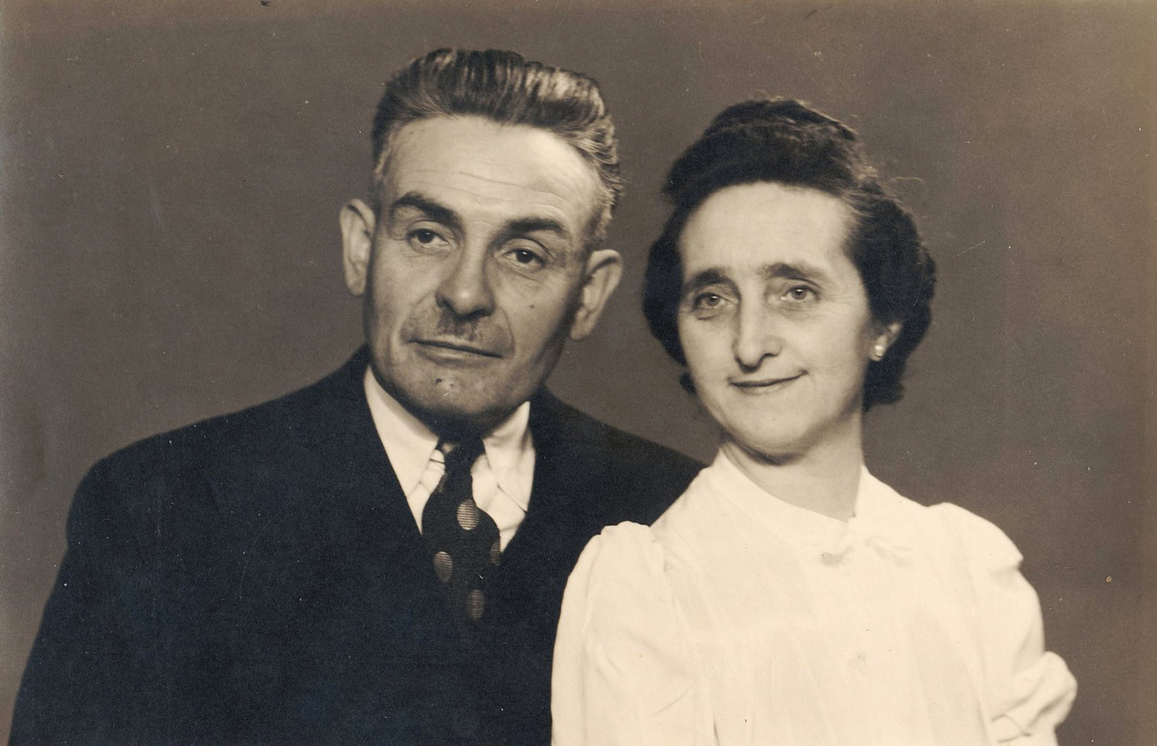 The authors Belgian grandparents