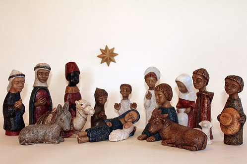 Crèche – Nativity scene complete or individual figurines