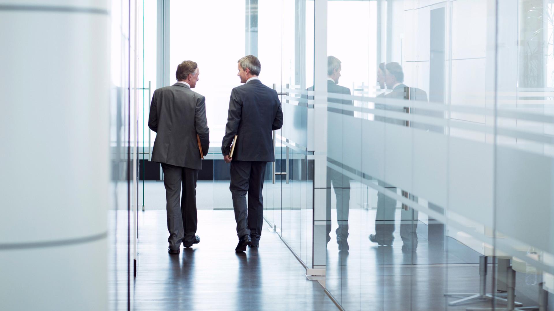 Discussion Réunion d'affaires