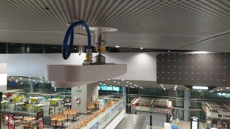 Nuevo sistema de monitoreo para controlar flujo y aforo de pasajeros