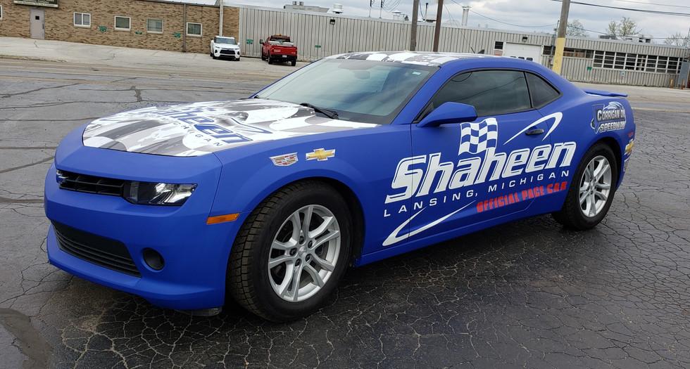 Shaheen Pace Car