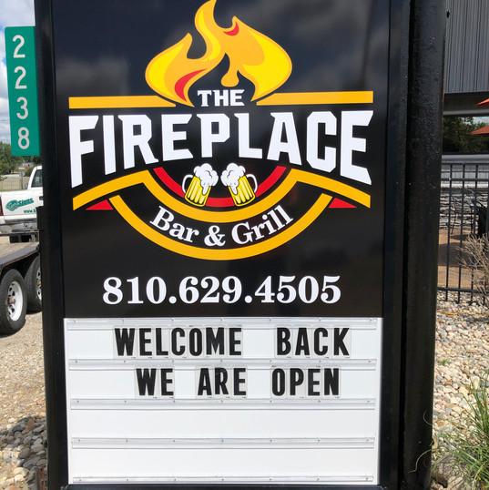 The Fireplace Bar & Grill