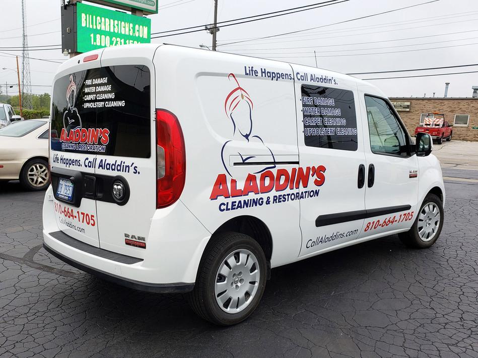 Aladdin's Cleaning & Restoration