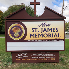 New St James Memorial COGIC