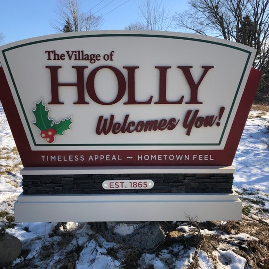 Village of Holly