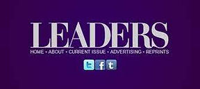 Leaders Magazine article on Kevin G Saunders forward thinking approach to air ambulances