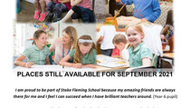 Looking for a school place for Sept 2021?