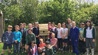 A new bird house for the environmental area