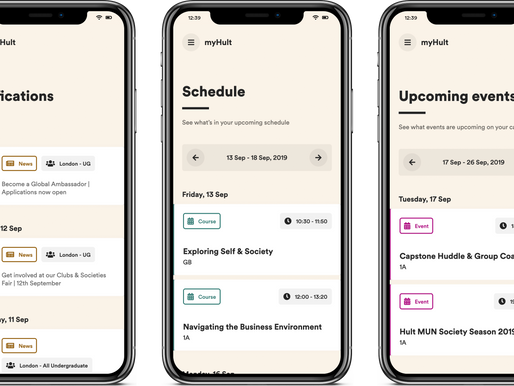 The new myHult News and Events app