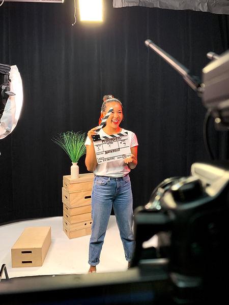 set record film camera studio lena me content publish release director