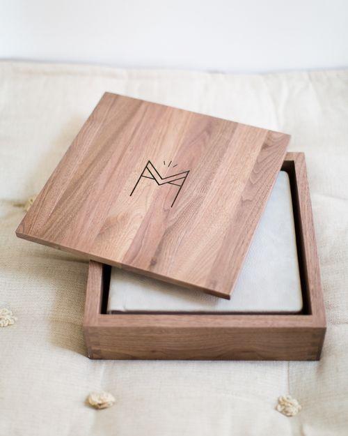 Houten doos - ontwerp op maat