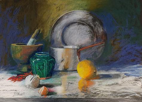 Soft Pastel Painiting