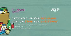 JCI Malta launches the JCI Foodbank Project!