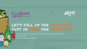 JCI Malta launches the JCI Foodbank Project!