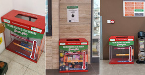 Where can you find the nearest donation box?